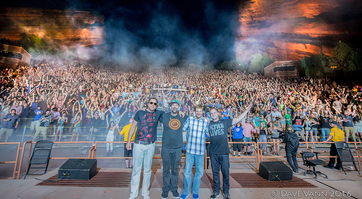 The Disco Biscuits at Red Rocks Photo by Dave Vann