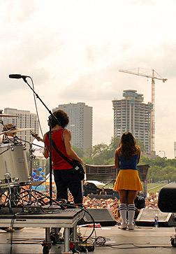 08/05/2006 Q101 Stage Lollapalooza, IL