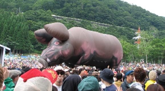 07/28/2006 Fuji Rock Festival Niigata, JPN