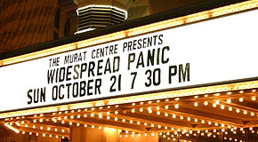 10/21/2007 The Murat Theatre Indianapolis, IN