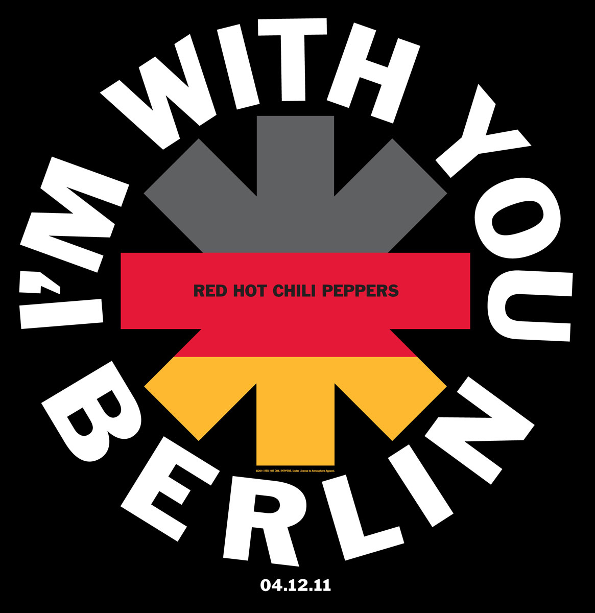 Red Hot Chilli Peppers Berlin